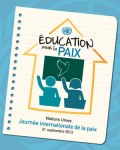 Education for Peace Poster French